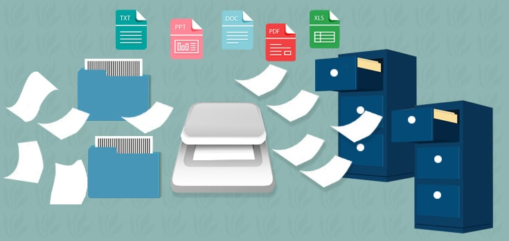 how document scanning services helps business to reduce operational cost