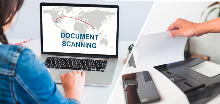 Benefit of outsourcing document scanning services