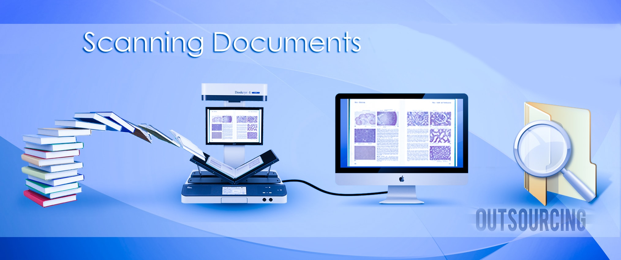 outsourcing document scanning service help data management
