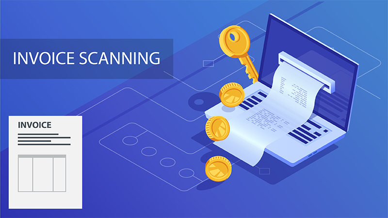 invoice scanning services