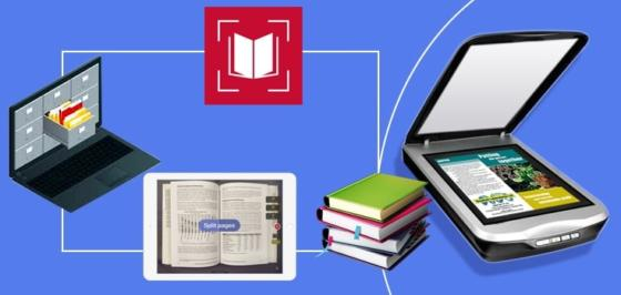 convert a book to pdf with book scanning service