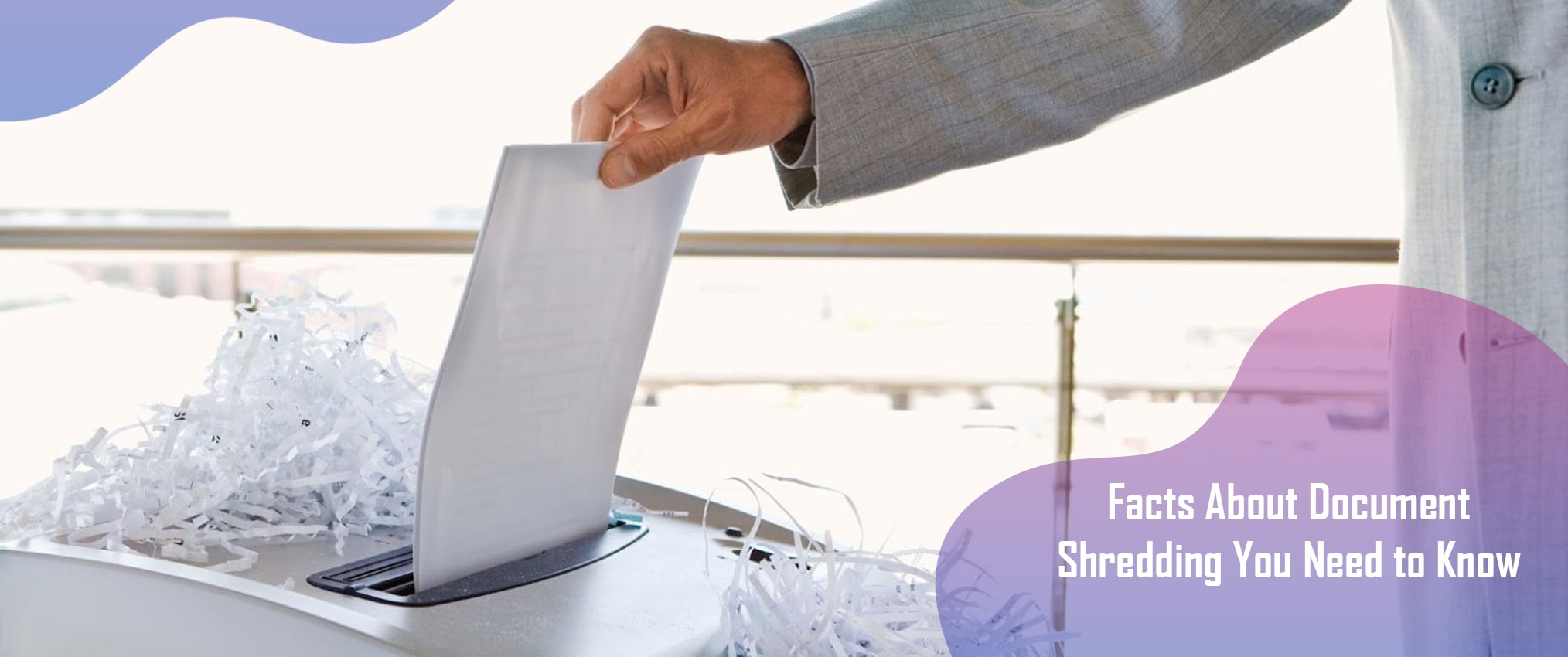 facts about document shredding