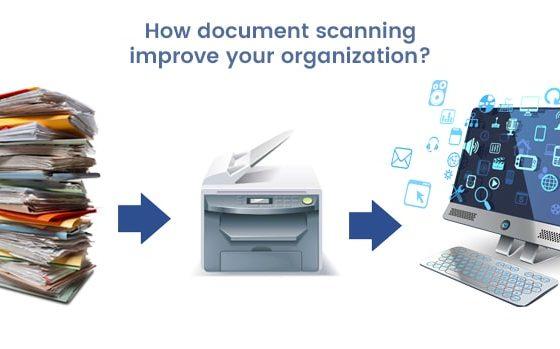 document scanning improves organizaion